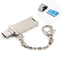 USB 3,1 тип-c кардридер Micro SD/карты памяти TF OTG кардридер для мобильного телефона/планшета/ПК кардридер для huawei p10
