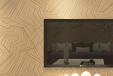 Dark Geometry Modern 3D Wallpaper Walls TV Unit Texture Black Background Living Room Wall Paper Roll