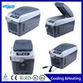 Car Styling Home And Auto Dual Refrigerator 8L Portable Mini Car Refrigerator Cooling and Heating 5274B
