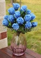 7 СМ Моделирование искусственный свадебные букеты, шелковые розы невеста букет, свадьба арки цветок для свадебного украшения, цветочные рас...