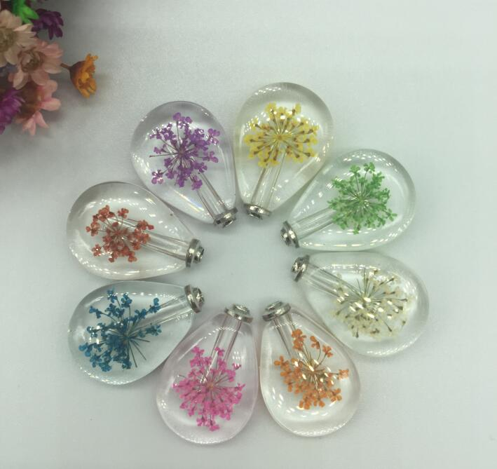 300pcs Fashion Real natural dried Flower Locket Necklace Cabochon Wish perfume Bottle Pendant Necklace unisex Jewelry trinket300pcs Fashion Real natural dried Flower Locket Necklace Cabochon Wish perfume Bottle Pendant Necklace unisex Jewelry trinket