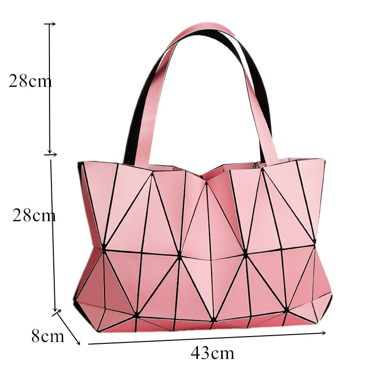 0764b6b8b7 Japan Brand BAO New Matte Triangle Laser Women Shoulder Bags Female Totes  Diamond Geometry Ladies Handbags Female Tote With Logo-in Shoulder Bags  from ...