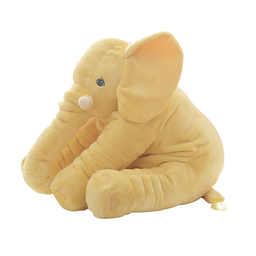 Toys & Hobbies ... Stuffed Animals & Plush ... 32724051340 ... 3 ... 40/60cm Fashion Baby Animal Plush Elephant Doll Stuffed Elephant Plush Soft Pillow Kid Toy Children Room Bed Decoration Toy Gift ...