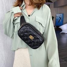 Fashion Plaid crossbody bags for women bag 2019 summer small shoulder bag female PU leather messenger bag lady small handbag цена