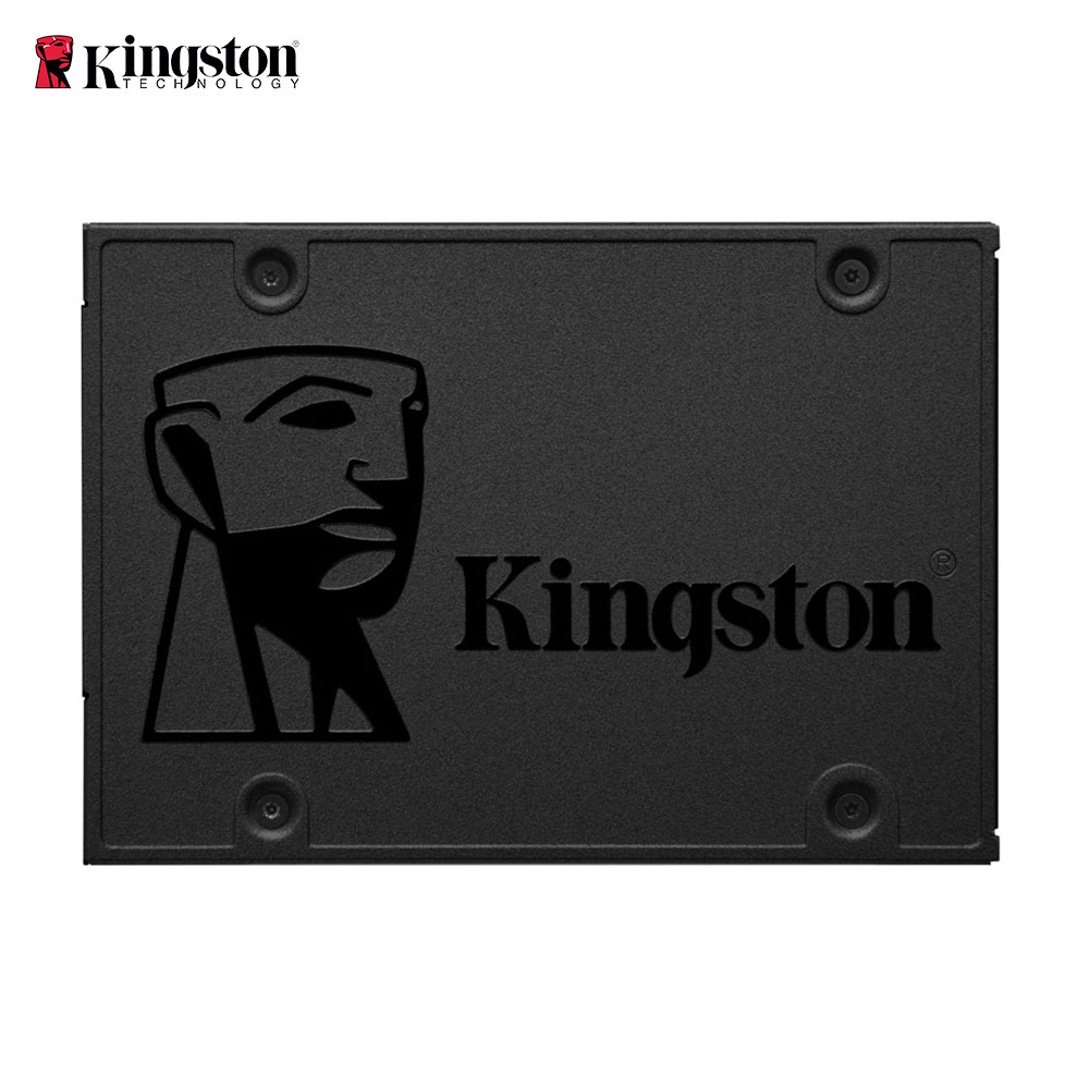 Kingston Technology A400, 480 GB, 240 GB, 120 GB 2.5 polegada, Serial ATA III, 500 MB/s, 6 Gbit/s, Drives de Estado Sólido Interno para o Desktop