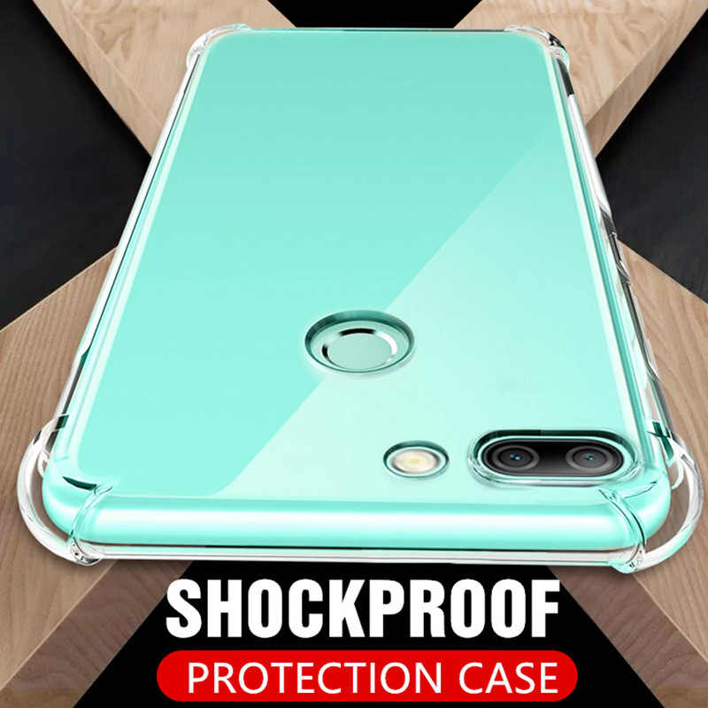 Shockproof Clear Soft Silicone Case For Huawei P10 P20 Lite Transparent TPU Back Cover For Mate 10 Lite Pro Honor 9 Lite 10 V10