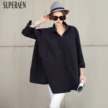 SuperAen Korean Style Fashion Women Shirts 2019 Spring New C