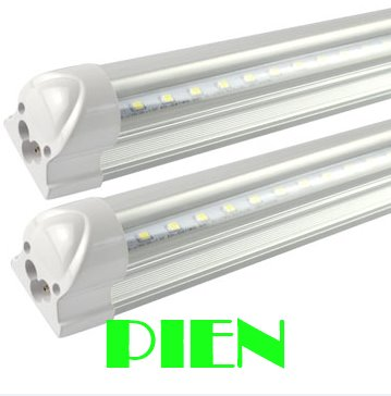 LED tube T8 lamp 18W 1200mm 1.2M 4FT SMD2835 compatible with inductive ballast & fixture G13 85V-265V CE&ROHS by Fedex 30pcs t8 led tube 1200mm light 18w120cm 4ft 1 2m g13 with holder fixture high power smd2835 fluorescent replacement 85 265v