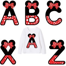 letter patches thermo stickers on clothes iron on transfers for clothing heat sensitive patch transfer fusible stripes appliques