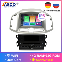 4G RAM Android 8.0 9.0 Car DVD Stereo For Chevrolet Captiva Epica 2012 2013 2014 2015 Auto Radio GPS Navigation Multimedia Audio