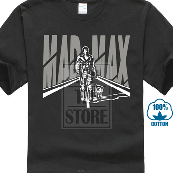 Mad Max 80s Movie T Shirt O-neck Fashion Casual High Quality Print T Shirt