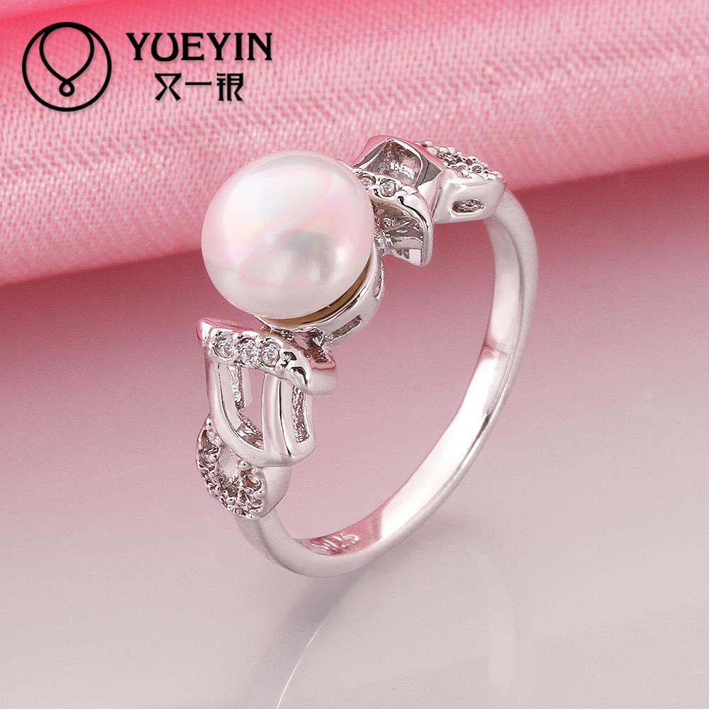 Designer\'s jewelry woman pearl ring finger ring high quality R014 8 ...