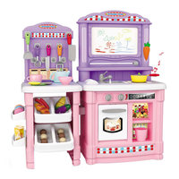 Многофункциональный 70 шт. детская Кухня игрушки притворяясь имитация Пособия по кулинарии Еда Пластик игрушки торт овощей вырезать подаро