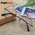 Ecovacs Pure Titanium Restore Ancient Ways Glasses Frame Man Optics Myopia Circle Glasses Frame Ma'am Spectacles Frame E 8018