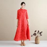 Crochet Floral Slik Dress Women Summer Casual Dresses Fahion Half Sleeve Swing Red White Flare Dress Famale Sundress Z30WR46