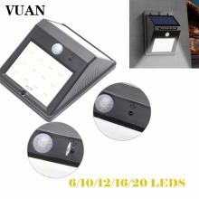 6 8 10 12 16 20 led Outdoor Solar Sensor LED Light