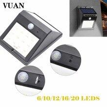 6 8 10 12 16 20 led Outdoor Solar Sensor LED Light