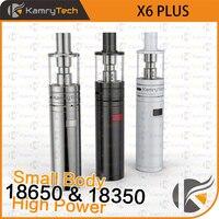 Gốc Kamry X6 Cộng Với kit Vape Bút Vaporizer Hookah kit 18650 18350 Pin Mod VS iJust S EGO AIO X1091 Thuốc Lá Điện T