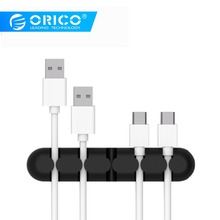 ORICO Cable Winder Desktop Earphone Cable Organizer Wire Hol