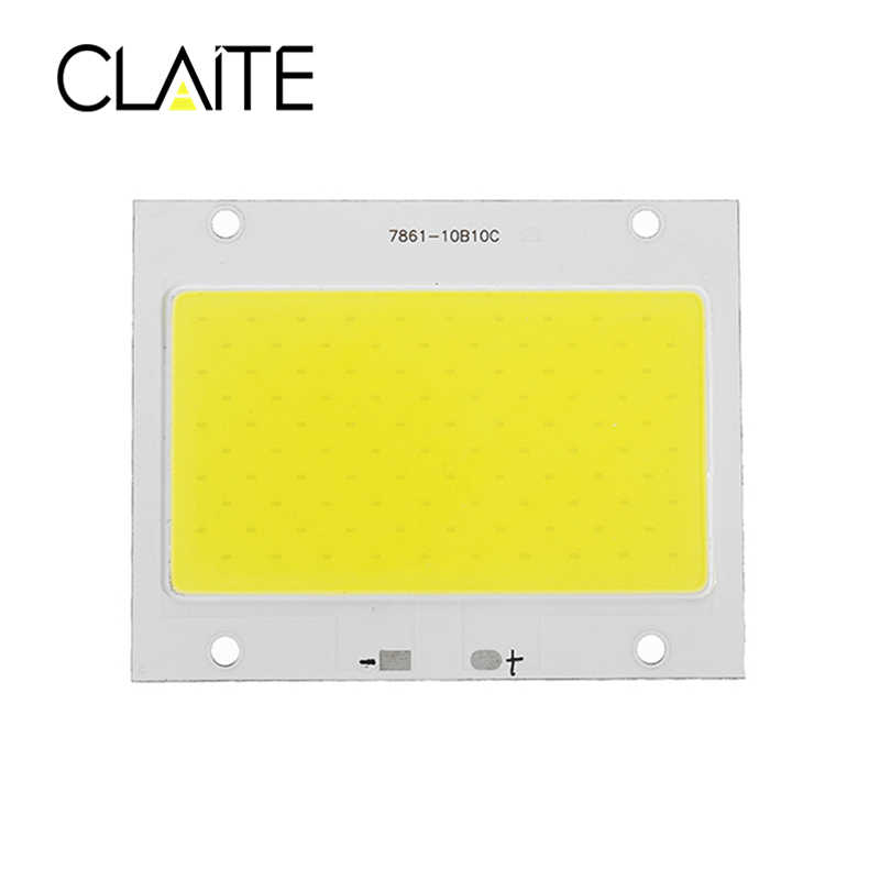 CLAITE M-LC04 50W 100W 150W Light Chip White/Warm White LED COB DIY For Flood Light Spotlight DC32-34V