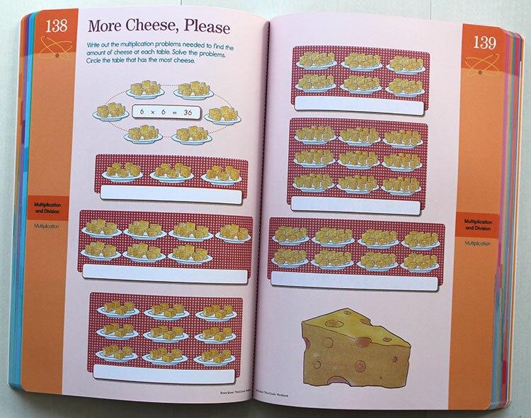 Cerveau Quête classeur Anglais version de le développement intellectuel carte livres questions et réponses carte smart Enfant enfants - 5