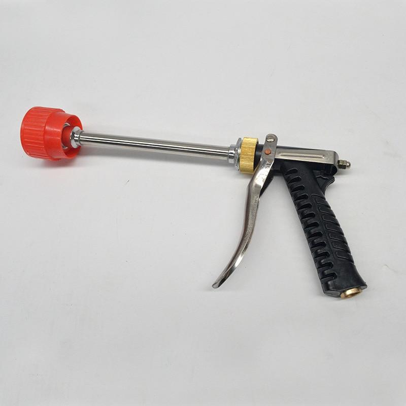Lange version von garten spritzpistole anti-nebel pestizid gun landwirtschaft sprayer wasser pistole hochdruck auto waschen spray gun pistole