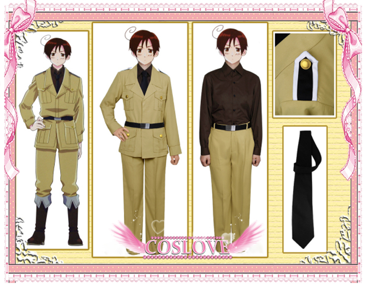 South Italy Cosplay Costume Axis Powers Hetalia Holloween Christmas Party Holiday