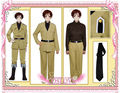 South Italy Cosplay Costume from Axis Powers Hetalia Cosplay Holloween Christmas Party Holiday