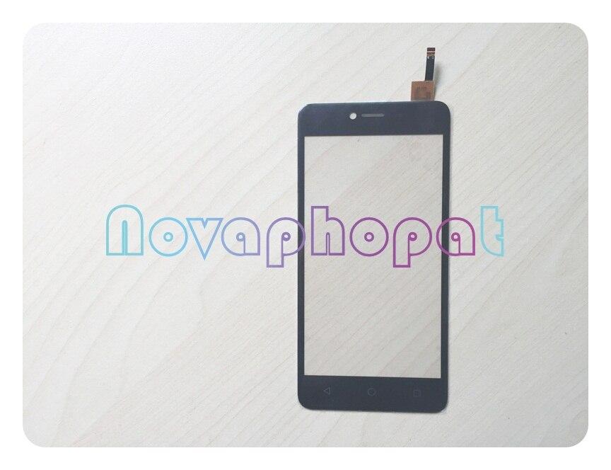 Cep telefonları ve Telekomünikasyon Ürünleri'ten Cep Telefonu Dokunmatik Paneli'de Novaphopat siyah/altın dokunmatik Wiko Jerry için Max dokunmatik ekran digitizer ekran değiştirme + izleme title=