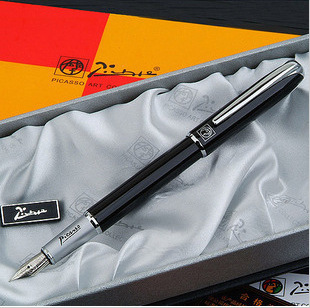 Picasso pen 916 fine financial students practice calligraphy pen iridium fountain pen gift ink pen with gift box  OWT003 9901 fine financia pen student pen art fountain pen 0 38 0 5 0 8mm optional gift box set