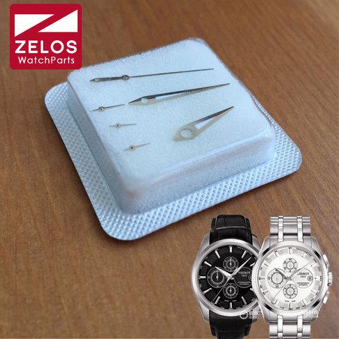 Mãos para Tissot Luminoso Cal: Movimento Assista T-classic T035 Automatic Chronograph Ver Hand T035.627.16.031.00 Eta 7750
