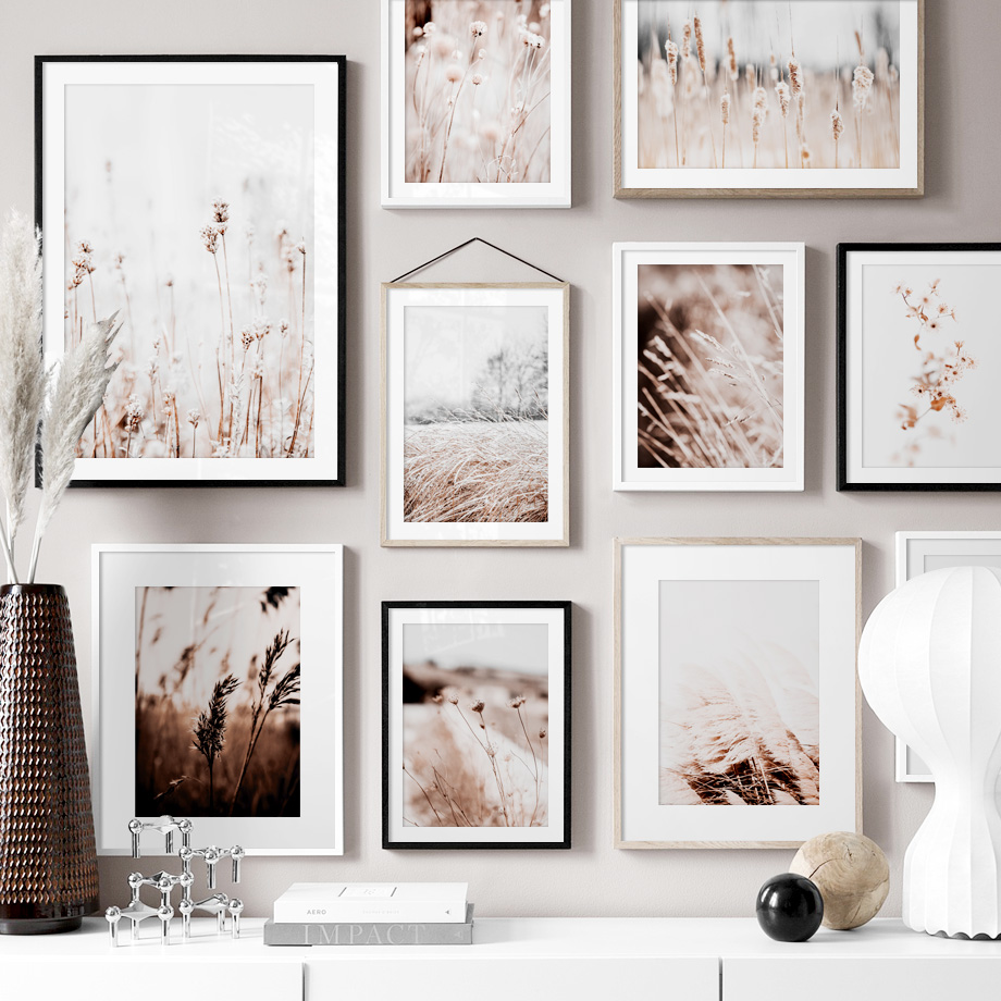 HTB1PgIZRHPpK1RjSZFFq6y5PpXa5 Farm Plant Flower Leaves Wheat Landscape Wall Art Canvas Painting Nordic Posters And Prints Wall Pictures For Living Room Decor