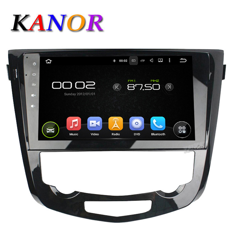 kanor 10 1 inch android 5 1 car gps navigation for nissan qashqai x trail 2014 with 1024 600. Black Bedroom Furniture Sets. Home Design Ideas