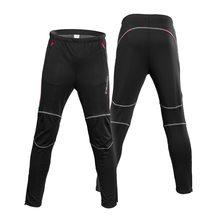 Мужские велосипедные брюки зимние термо флисовые уличные для спорта, езды на велосипеде брюки для верховой езды брюки ветрозащитные спортивные брюки