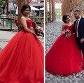 Vestidos de quinceaneras vermelho lace vestidos quinceanera 2017 cheap quinceanera vestidos vestidos de 15 años tules sweet 16 vestidos