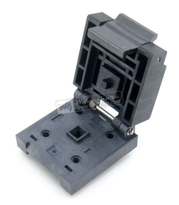 QFN8 MLP8 MLF8 QFN-(24) B-Enplas IC Test Socket Adattatore di Programmazione Passo da 0.5mmQFN8 MLP8 MLF8 QFN-(24) B-Enplas IC Test Socket Adattatore di Programmazione Passo da 0.5mm