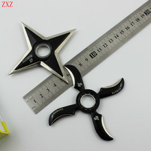 Naruto shuriken Cosplay Ninja Weapon Set With Box