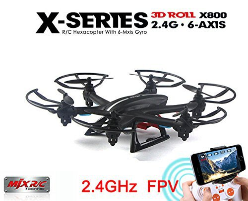 MJX X800 2.4G RC Drone Hexacopter 6 Axis Gyro UAV 3D Roll Auto Return Headless Helicopter with HD C4005 0.3MP Camera квадрокоптер радиоуправляемый mjx bugs 3