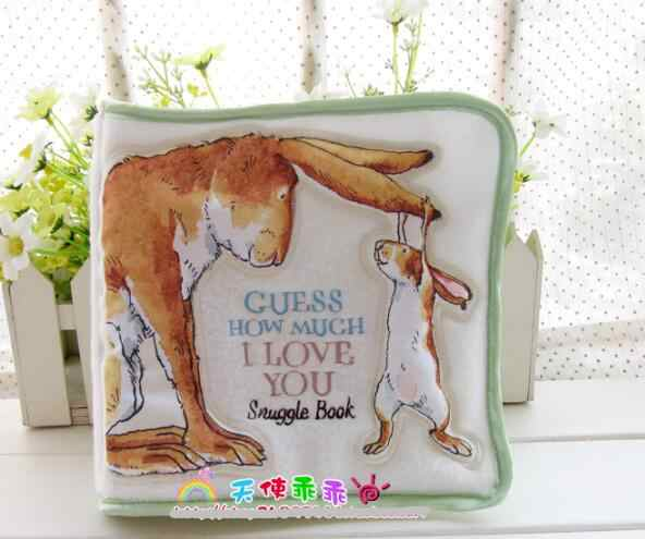 candice guo! new arrival baby toy soft cloth book guess how