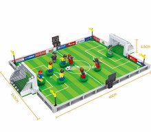Model building kits compatible with lego city football 251 Pcs 3D blocks Educational model & building toys hobbies for children