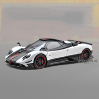 R 1:18Alloy Pull Back Toy Vehicles Pagani zonda Sports Car Model Of Children's Toy Cars Original Authorized Authentic Kids Toys