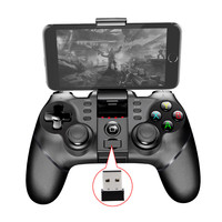 2018 New PG9076 Batman Gaming Gamepad Bluetooth Wireless Controller Gamepad Joystick For Iphone Android Phone Win