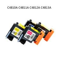 4pcs Set C4810A C4811A C4812A C4813A Print Head Printhead For HP 11 70 100 110 111