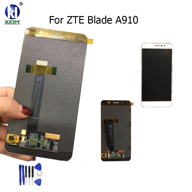 KEDY Compatible For 5 5 Inch ZTE Blade A910 BA910 TDLTE LCD Display With Touch Screen