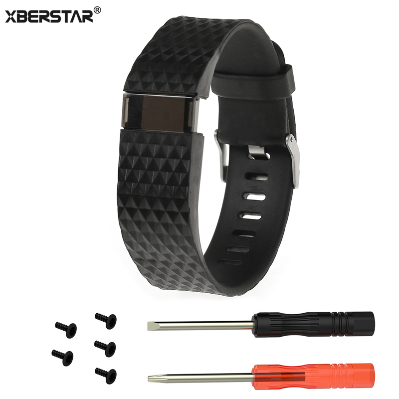 XBERSTAR Replacement Wrist Band Watch Strap for Fitbit Charge HR Wireless Activity Tracker Watchbands Wristband New Arrival fitbit watch