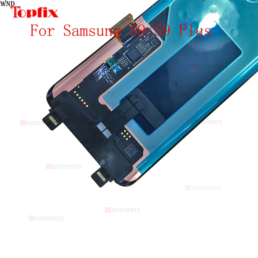 In Stock Super AMOLED For Samsung Galaxy S9S9 Plus G960F G965F LCD Touch Screen Digitizer Assembly With Frame Replacement Parts (6)