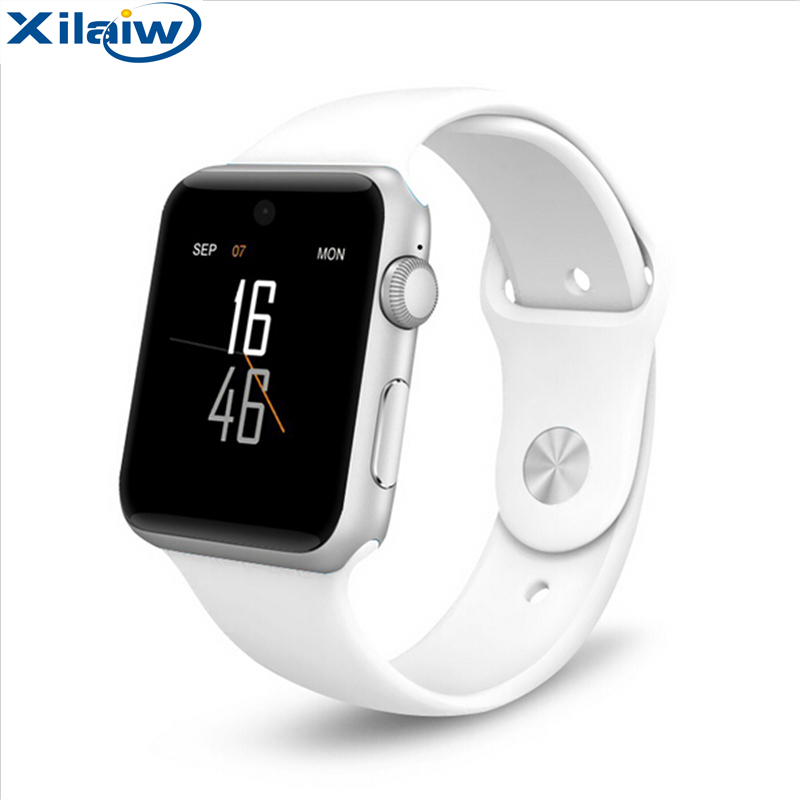 Newest Bluetooth Smart Watch Pedometer Anti-lost Fitness Tracker 2.5D ARC HD Screen Support SIM Card SmartWatch for IOS Android цена