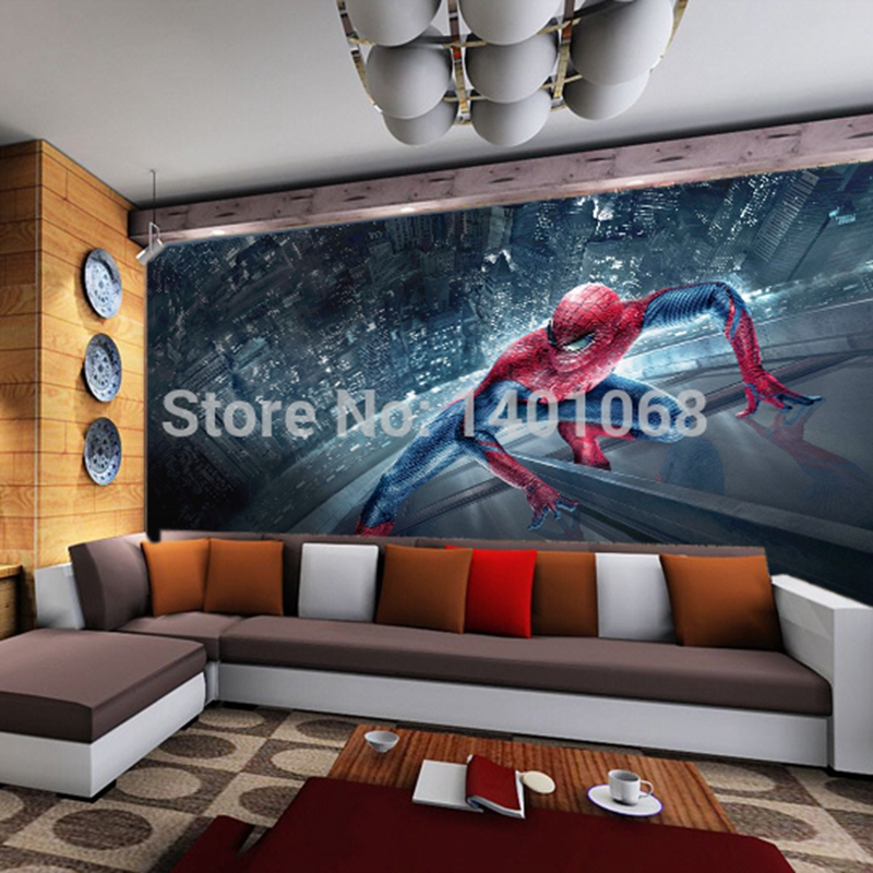 Spiderman Wall Mural Online Get Cheap Spiderman Wallpaper Mural  Aliexpress Part 91