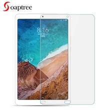 Soaptree Tempered Glass For Xiaomi Mi Pad 4 8.0 Plus 10.1 Tablet Screen Protectors