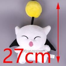 Final Fantasy MOGLI Moogle Cartoon Plush Toy Soft Stuffed Animal Doll 27cm